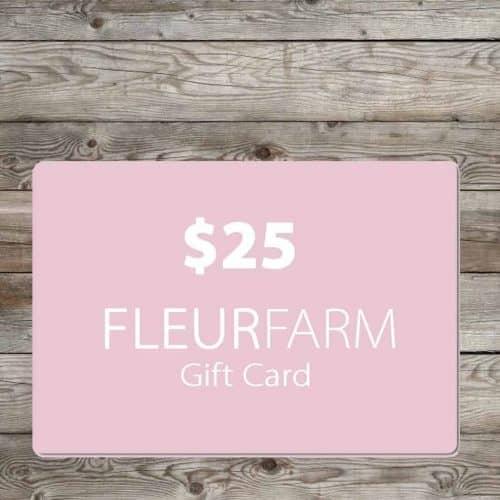 Fleur Gift Card $25